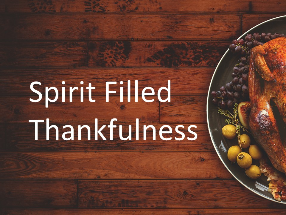 A Prayer For Thankful Church Members               Philippians 1: 3-11