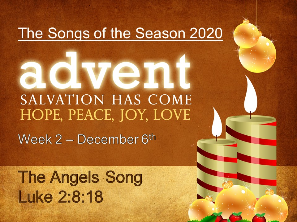 The Angels Song  Luke 2:8-18